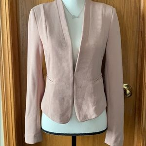 Iris Los Angeles sz med fitted mauve pink blazer